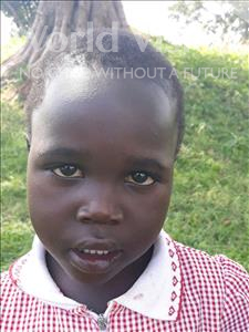 Choose a child to sponsor, like this little girl from Busitema, Caroline age 3