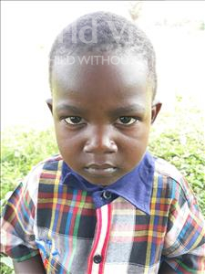 Choose a child to sponsor, like this little boy from Busitema, Jackson age 4