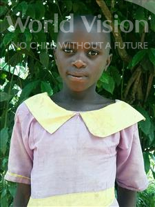 Choose a child to sponsor, like this little girl from Ntwetwe, Winnie age 11