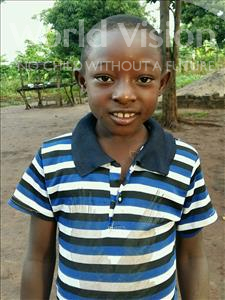 Choose a child to sponsor, like this little girl from Ntwetwe, Asumputa age 9