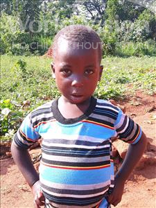 Choose a child to sponsor, like this little boy from Ntwetwe, Fred age 3