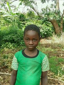 Choose a child to sponsor, like this little Boy from Ntwetwe, Sylivest age 9