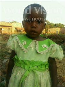 Choose a child to sponsor, like this little girl from Ntwetwe, Judith age 2