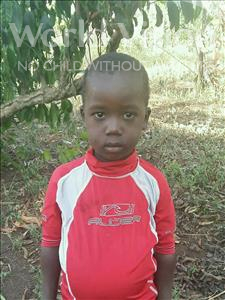 Choose a child to sponsor, like this little boy from Ntwetwe, Umalu age 3