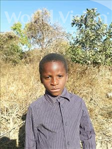 Choose a child to sponsor, like this little boy from Keembe, Isiah age 7