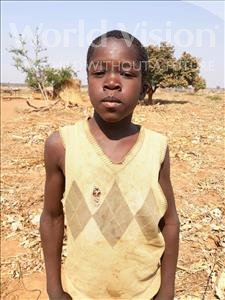 Choose a child to sponsor, like this little boy from Keembe, Victor age 11