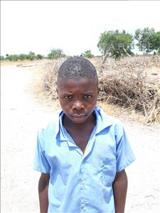 Choose a child to sponsor, like this little boy from Keembe, Frances age 11