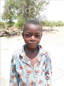 Choose a child to sponsor, like this little boy from Keembe, Goden age 8