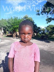 Honest, aged 3, from Zambia, is hoping for a World Vision sponsor