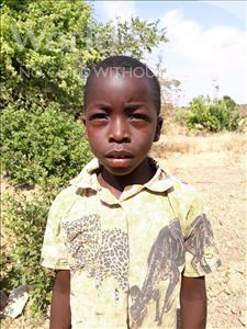 Choose a child to sponsor, like this little boy from Keembe, Weeny age 8