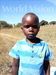 Choose a child to sponsor, like this little boy from Keembe, Saul age 6