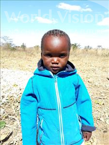 Choose a child to sponsor, like this little boy from Keembe, Samson age 2