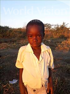Choose a child to sponsor, like this little Boy from Keembe, Knox age 6