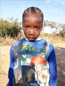 Choose a child to sponsor, like this little boy from Keembe, Rigan age 6