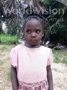 Choose a child to sponsor, like this little girl from Keembe, Constance age 3