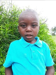 Choose a child to sponsor, like this little boy from Keembe, Borniface age 3