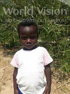 Choose a child to sponsor, like this little girl from Keembe, Melinda age 3