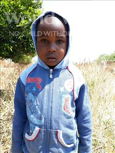 Choose a child to sponsor, like this little boy from Keembe, Jose age 5