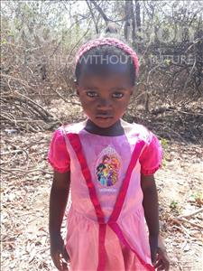 Choose a child to sponsor, like this little girl from Keembe, Ireen age 3