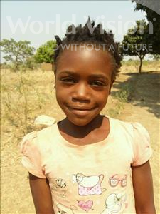 Choose a child to sponsor, like this little girl from Keembe, Milliam age 8