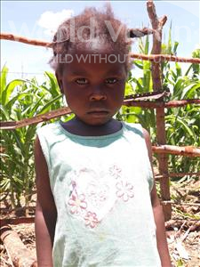 Choose a child to sponsor, like this little girl from Keembe, Peggy age 3