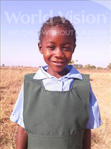 Choose a child to sponsor, like this little girl from Keembe, Lona age 8