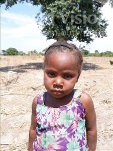 Choose a child to sponsor, like this little girl from Keembe, Hildah age 3