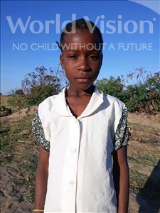 Choose a child to sponsor, like this little girl from Keembe, Luckiness age 11