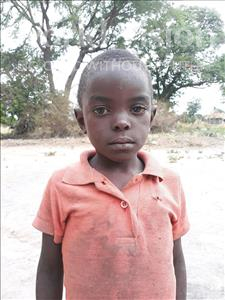 Choose a child to sponsor, like this little boy from Keembe, Brian age 5
