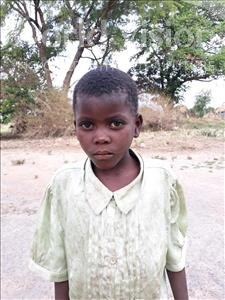 Choose a child to sponsor, like this little girl from Keembe, Emmah age 6