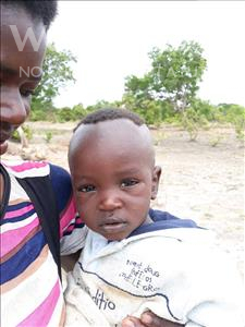 Choose a child to sponsor, like this little boy from Keembe, Paul age 1