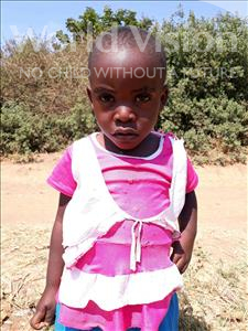Choose a child to sponsor, like this little girl from Keembe, Mervice age 3