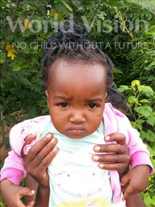 Choose a child to sponsor, like this little girl from Keembe, Rachel age 1