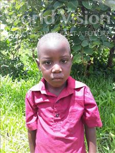 Choose a child to sponsor, like this little boy from Keembe, James age 4
