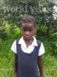 Esther, aged 6, from Zambia, is hoping for a World Vision sponsor