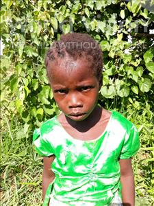 Choose a child to sponsor, like this little Girl from Keembe, Felisi age 5