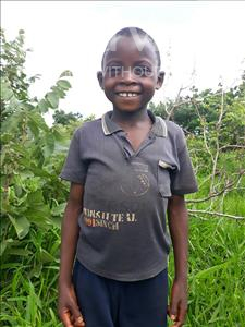 Robert, aged 6, from Zambia, is hoping for a World Vision sponsor