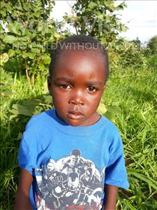 Andrew, aged 4, from Zambia, is hoping for a World Vision sponsor