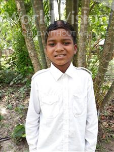 Choose a child to sponsor, like this little boy from Ghoraghat, Rasel age 10