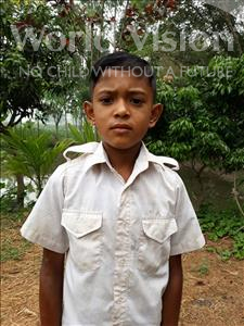 Choose a child to sponsor, like this little boy from Ghoraghat, Sohag age 8