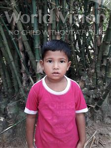 Choose a child to sponsor, like this little boy from Ghoraghat, Abdullah Nishat age 3
