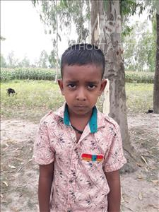 Choose a child to sponsor, like this little boy from Ghoraghat, Soikot Sheel age 6