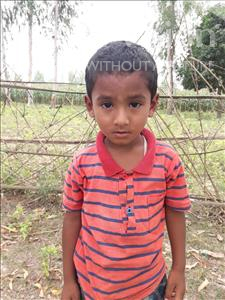 Choose a child to sponsor, like this little boy from Ghoraghat, Niloy age 3