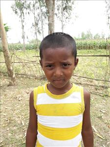 Choose a child to sponsor, like this little boy from Ghoraghat, Subroto age 6