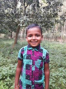 Choose a child to sponsor, like this little boy from Ghoraghat, Proshanto age 5