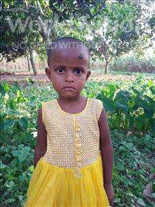 Choose a child to sponsor, like this little girl from Ghoraghat, Suborna age 4