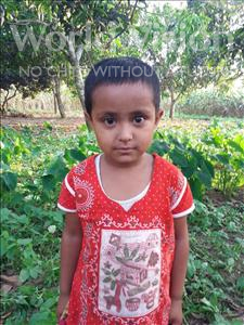 Choose a child to sponsor, like this little girl from Ghoraghat, Honey age 4