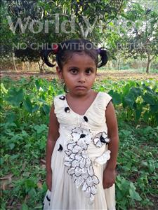 Choose a child to sponsor, like this little girl from Ghoraghat, Afsana age 5
