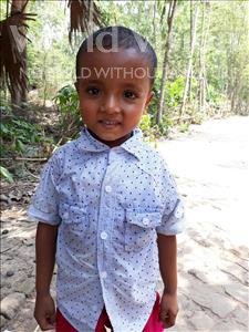 Choose a child to sponsor, like this little boy from Ghoraghat, Rashed Hridoy age 3