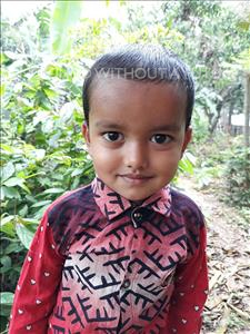 Ali Sojib, aged 3, from Bangladesh, is hoping for a World Vision sponsor